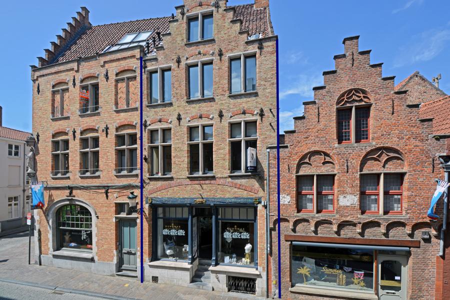 Unieke en exclusieve handelswoning in historisch Brugge