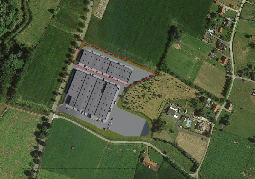 Allerlaatste KMO-unit vanaf 161m² langs de E40 tussen Gent en Oostende