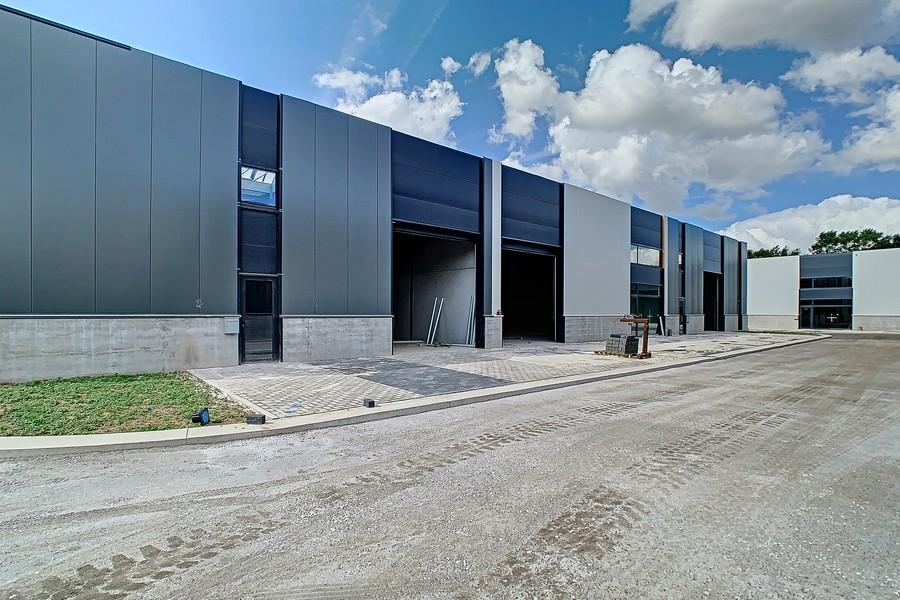 Nieuwbouw KMO-units, bedrijvenpark