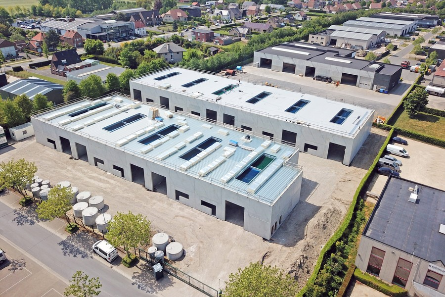 Allerlaatste nieuwbouwunits (294m²)op uitstekende locatie nabij E40 Jabbeke