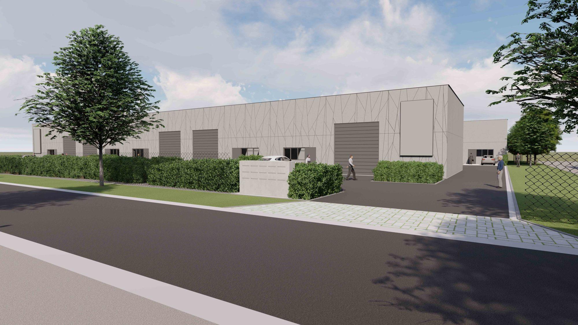 Nieuwe broeihaard voor ondernemingen in KMO-park Vlamingveld te Jabbeke.