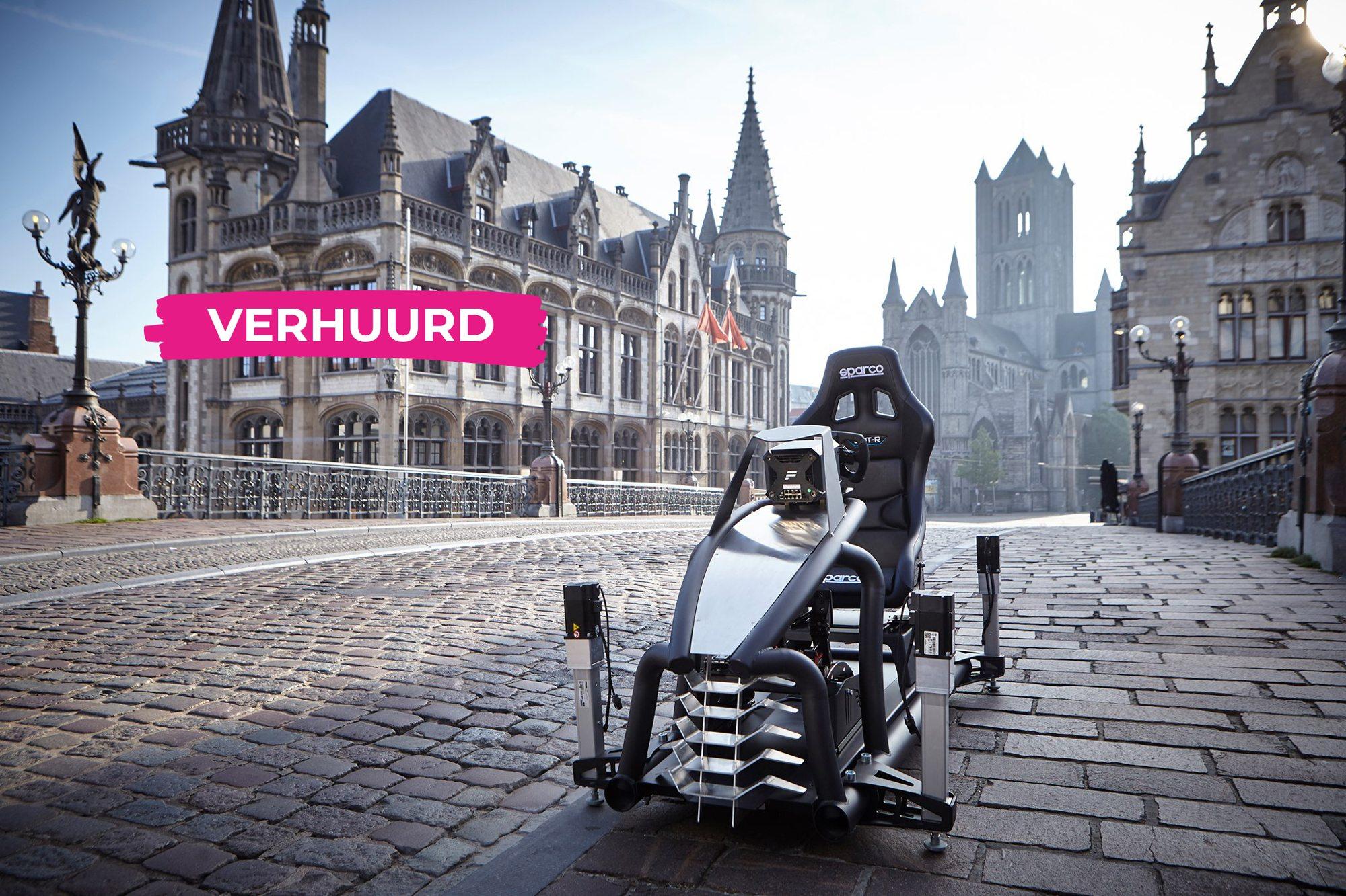 Unieke Virtual Reality race simulator vestigt zich in hartje Gent.